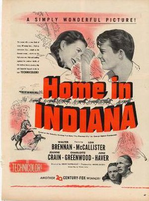 Home in Indiana - Image: Home in Indiana Video Cover