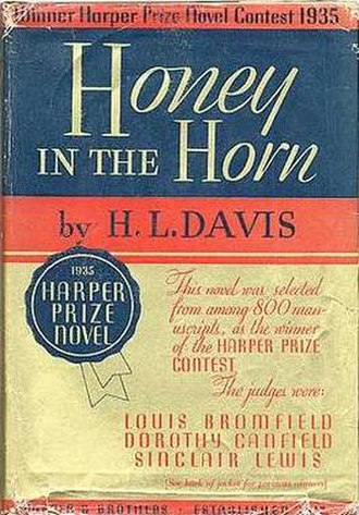 Honey in the Horn - First edition (publ. Harper & Brothers)