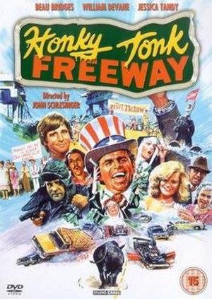 Honky Tonk Freeway - UK DVD Cover