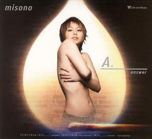 Hot Time/A. (Answer) - Image: Hot Time A Answer CDDVD Misono