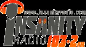 Insanity Radio 103.2FM - Insanity Radio Logo