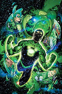 Kyle Rayner as Ion, the Torchbearer of the Guardians of the Universe.