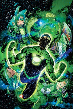 Ion (DC Comics) - Kyle Rayner as Ion, the Torchbearer of the Guardians of the Universe