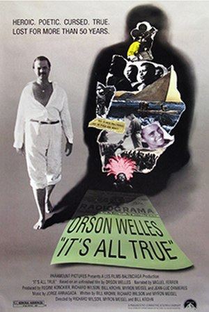 It's All True: Based on an Unfinished Film by Orson Welles - Theatrical release poster