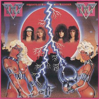 Knights of the New Thunder - Image: Knights of the New Thunder (Banned Cover)