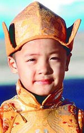 Kundun - The young Dalai Lama as portrayed in the film.
