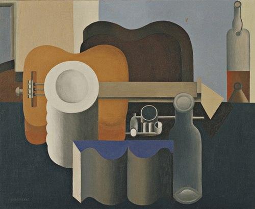 Le Corbusier (Charles-Édouard Jeanneret), 1920, Still Life, oil on canvas, 80.9 x 99.7 cm, Museum of Modern Art