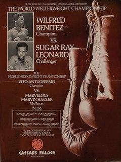 Wilfred Benítez vs. Sugar Ray Leonard