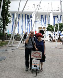 Liz-N-Val with 1st Global Museum at 2011 Venice Biennale