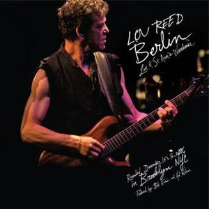 Berlin: Live at St. Ann's Warehouse - Image: Lou reed berlin live cd cover