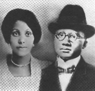 Louise Little (activist) - Louise and Earl Little in an undated photo