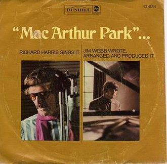 MacArthur Park (song) - Image: Mac Aruthur Park Single