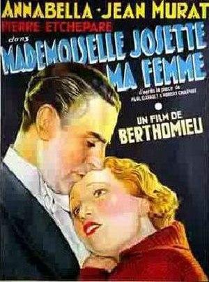 Mademoiselle Josette, My Woman (1933 film)