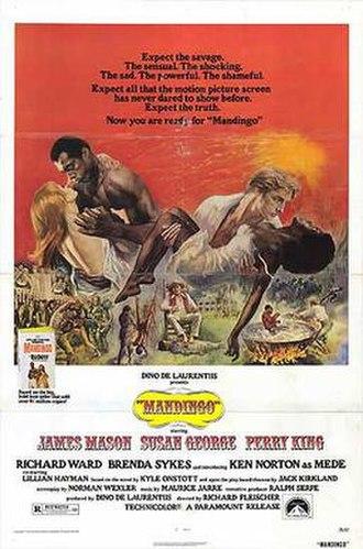 Mandingo (film) - Theatrical release poster
