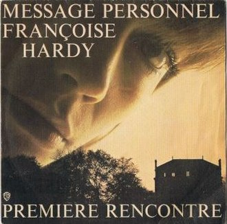 Message personnel - Image: Message personnel, cover single FR, 1973