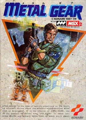 Metal Gear (video game) - Image: Metal Gear cover