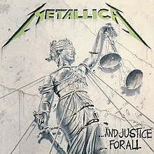 Metallica And Justice for All Cover Art