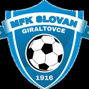 MFK Slovan Giraltovce - Image: Mfk slovan giraltovce