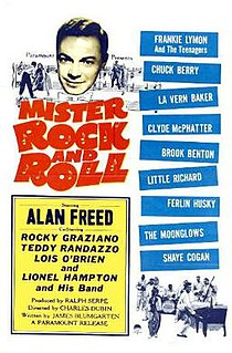 <i>Mister Rock and Roll</i> (film) 1957 film by Charles S. Dubin