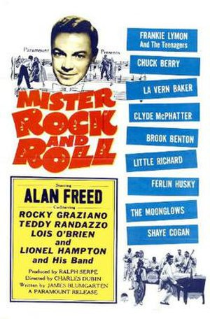Mister Rock and Roll (film) - Theatrical release poster