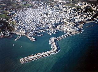 Mola di Bari Comune in Apulia, Italy
