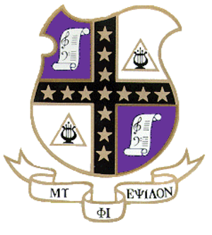 Mu Phi Epsilon - Image: Mu Phi Epsilon Shield