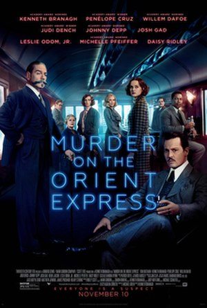 Murder on the Orient Express (2017 film) - Theatrical release poster
