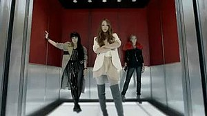 Wonder Woman (Namie Amuro song) - (left to right) Ai, Namie Amuro and Anna Tsuchiya in the outfits they appear in the music video