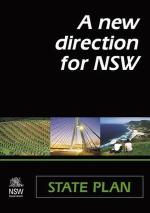 New South Wales State Plan - State Plan cover.
