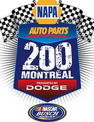 NAPA Auto Parts 200 - Image: Napa 200logo