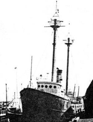 Lightship No. 114 - Image: New Bedford MA Lightship 114