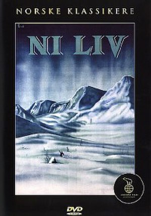 Nine Lives (1957 film) - Norwegian DVD cover