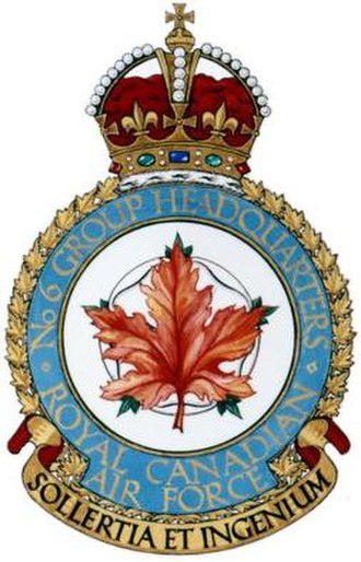 No. 6 Group RCAF - Image: No. 6 Group RCAF badge