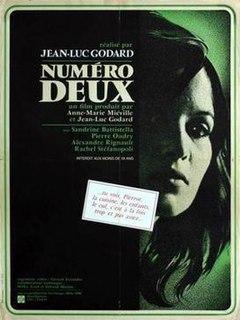 <i>Number Two</i> (film) 1975 film by Jean-Luc Godard, Anne-Marie Miéville