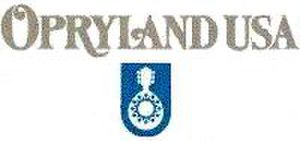 Opryland USA - Opryland USA logo used from the late-1980s through the 1990s. As a nod to its predecessor, the mandolin mark was incorporated into the original Opry Mills logo.