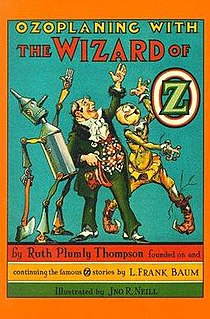 <i>Ozoplaning with the Wizard of Oz</i> book by Ruth Plumly Thompson