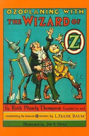 Ozoplaning with the Wizard of Oz - Cover of Ozoplaning with the Wizard of Oz.