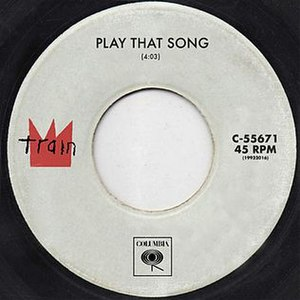 Play That Song (Train song) - Image: Play That Song