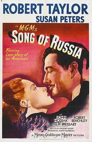Song of Russia - Theatrical Film Poster