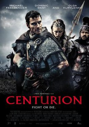 Centurion (film) - Theatrical release poster