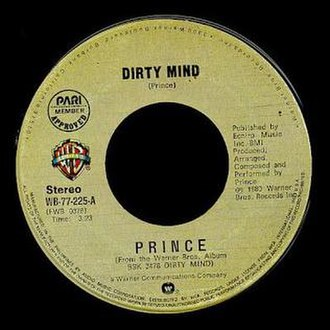 Dirty Mind (Prince song) - Image: Prince Dirty
