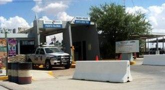 Puerto Palomas, Chihuahua - Mexican Port of Entry at Puerto Palomas