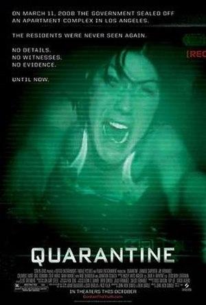 Quarantine (2008 film) - Theatrical release poster