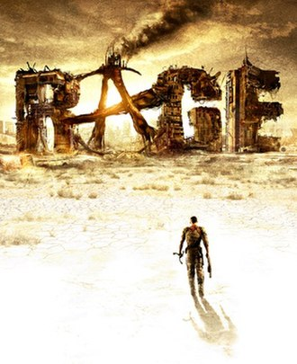 Rage (video game) - Image: Rage cover