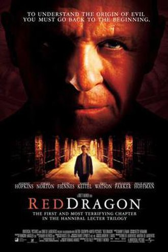 Red Dragon (2002 film) - Theatrical release poster