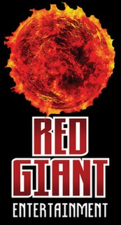 Red Giant Entertainment American comic book publisher