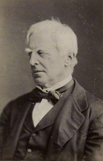 Robert Lowe - Image: Robert Lowe, 1st Viscount Sherbrooke