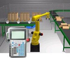 Robotics simulator - Image: Robo Logix 4