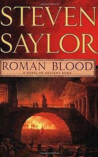 <i>Roman Blood</i> book by Steven Saylor