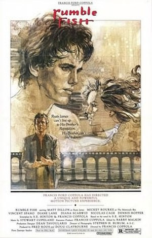 Rumble Fish - Theatrical release poster